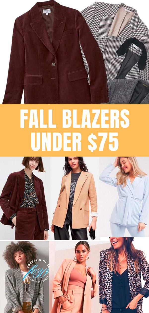 fall blazers under 75 fountainof30