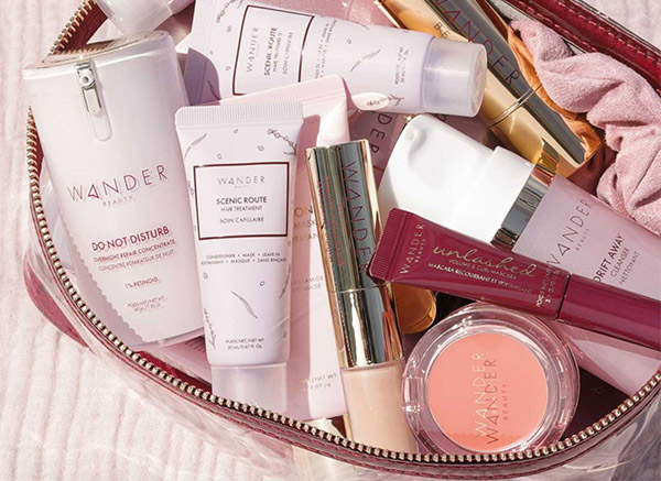 wander beauty bag of makeup Healthy Aging Month Giveaways fountainof30