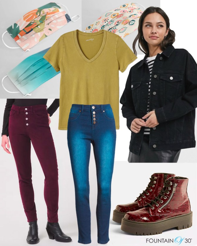 Street Style Inspired Fall Look for Less fountainof30