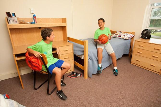 words sports camp dorm room 2 boys