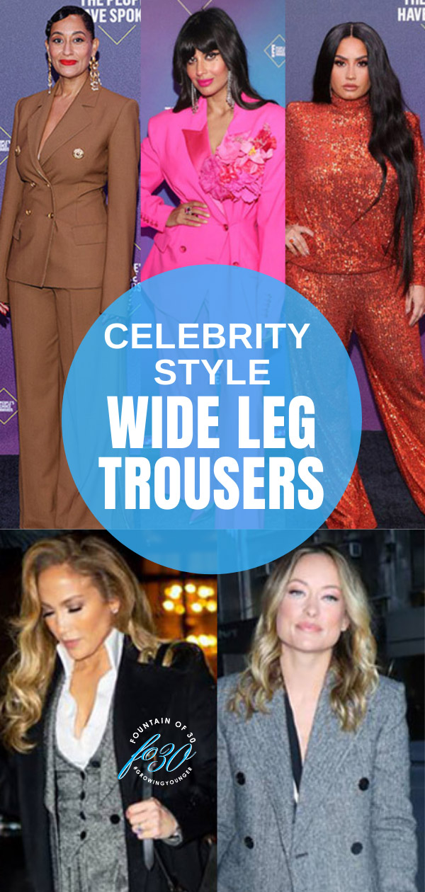celebrity style wide leg trousers fountainof30