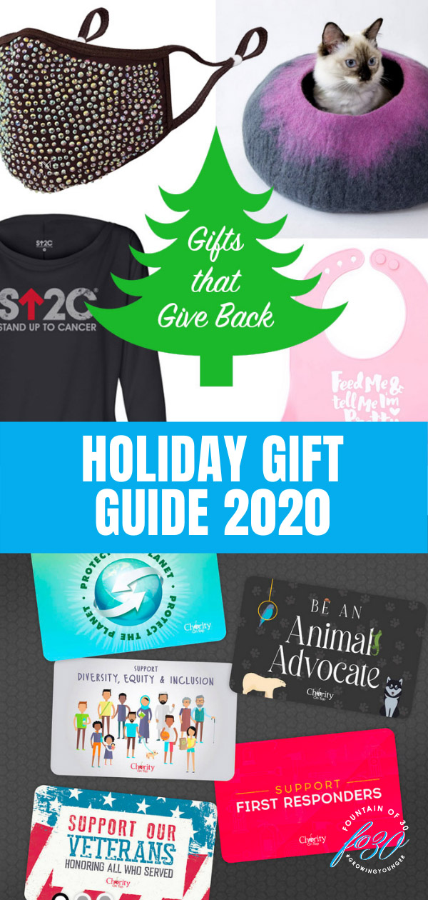 holiday gifts that give back 2020 fountainof30