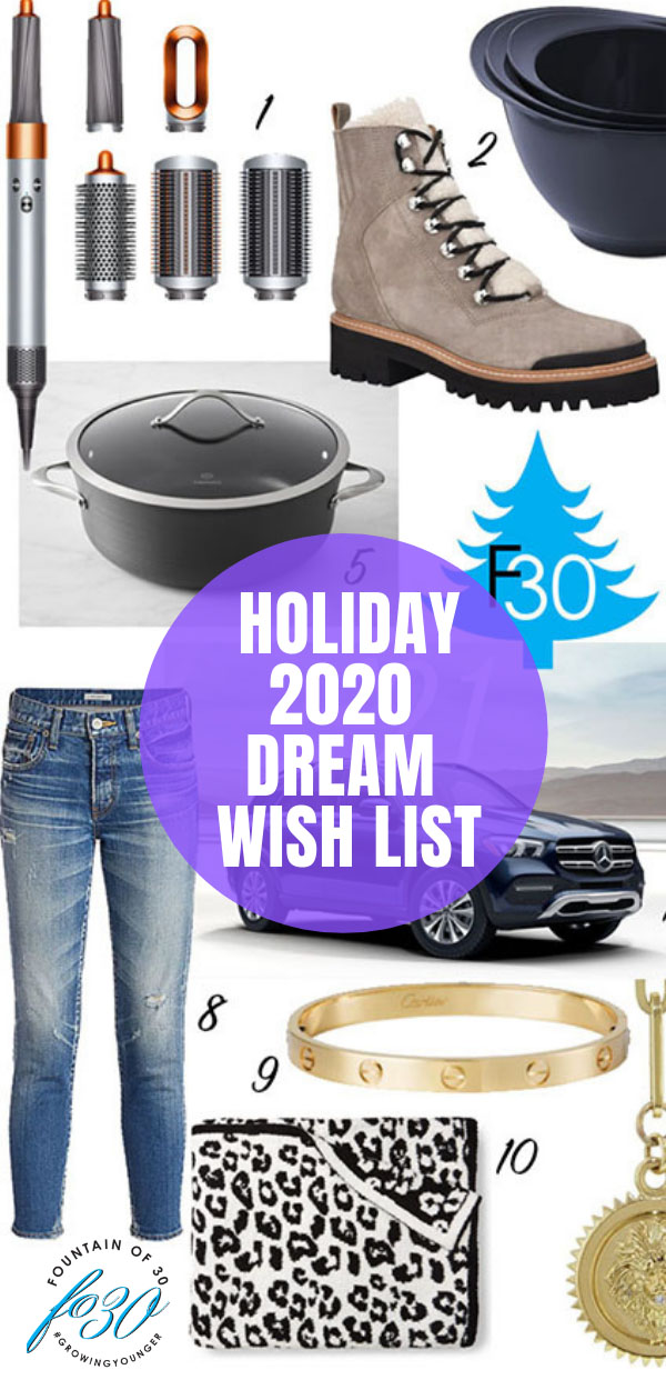 holiday wish list 2020 fountainof30