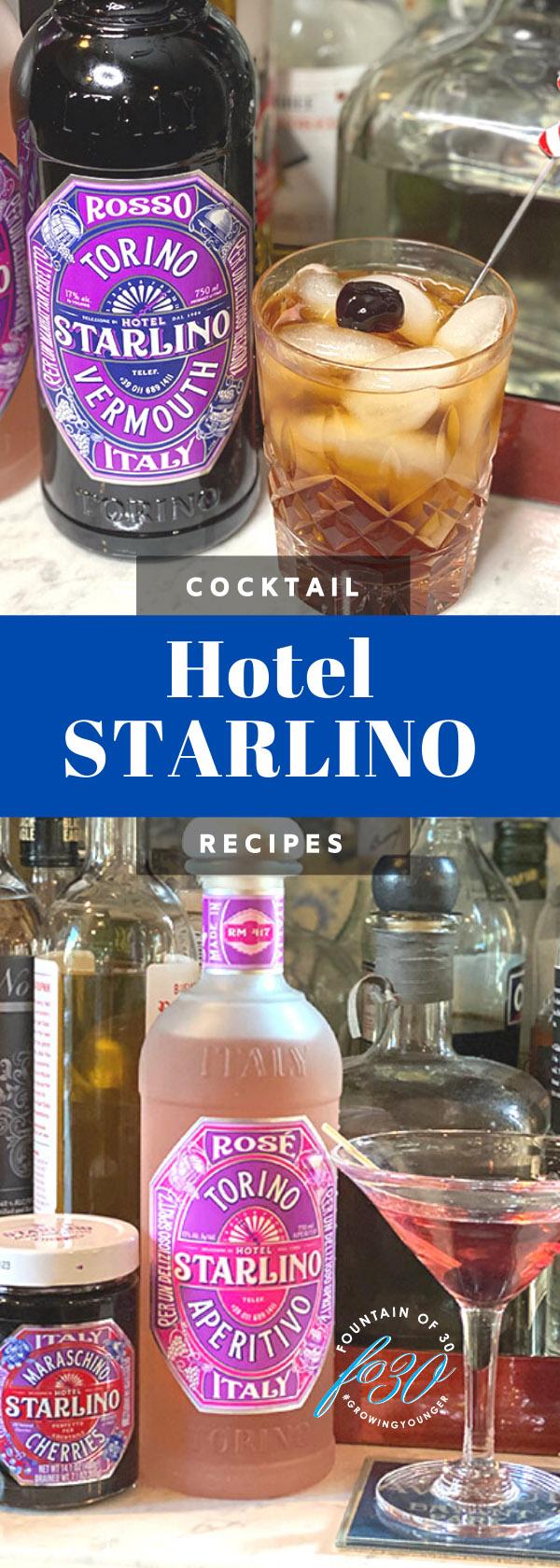 starlino cocktail recipes fountainof30