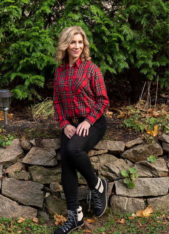 sheraling lined boots outfit fountainof30