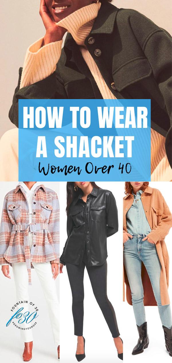 shacket for women over 40 fountainof30