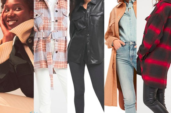 5 of The Best Ways to Wear a Shacket When You are Over 40