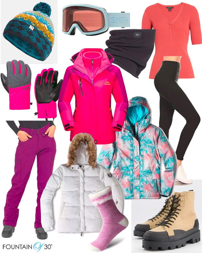 ski outfits for less ski essentials fountainof30
