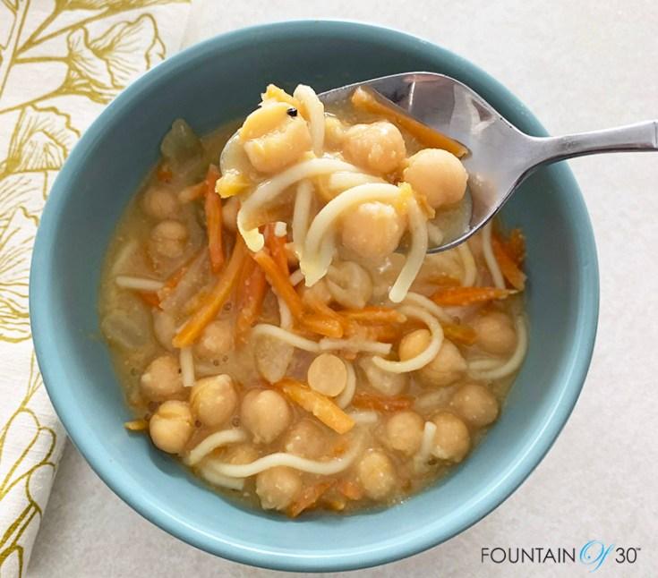 hearty chickpea soup recipe fountainof30