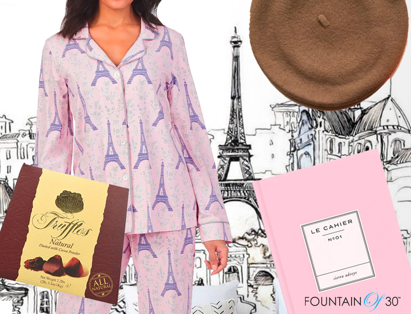 paris themed valentines day gifts fountainof30