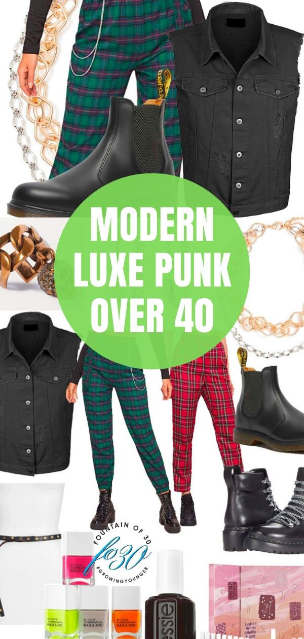 luxe punk fashion over 40 fountainof30