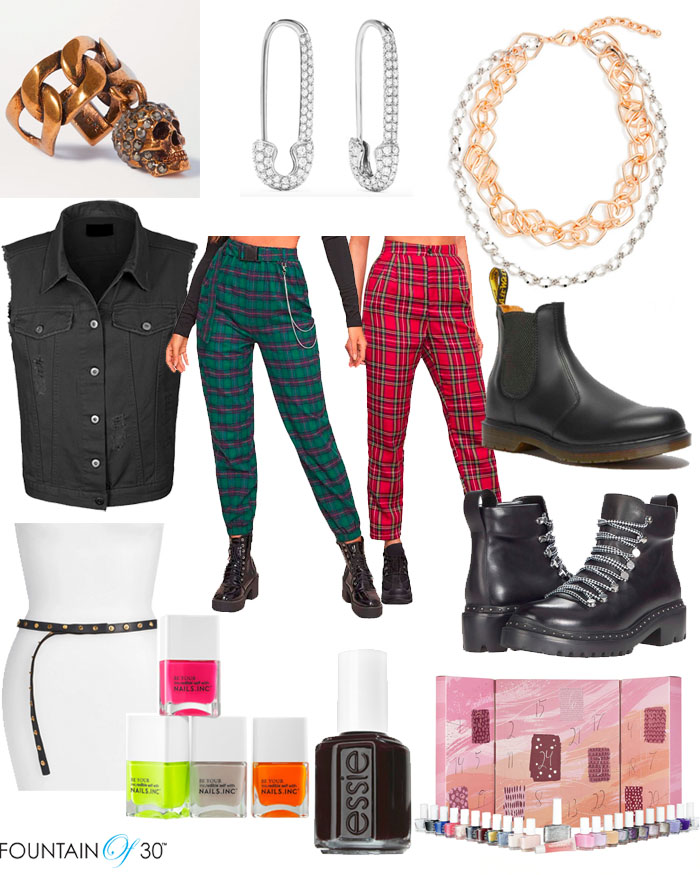 luxe punk look women over 40 fountainof30