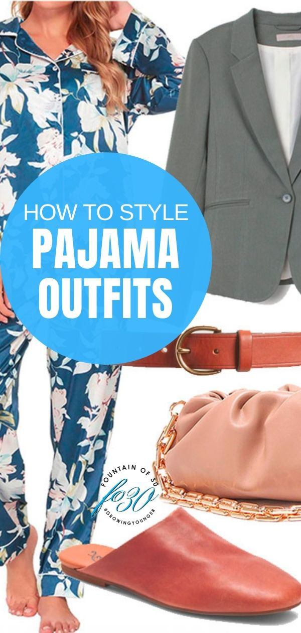 how to style pajama outfits
