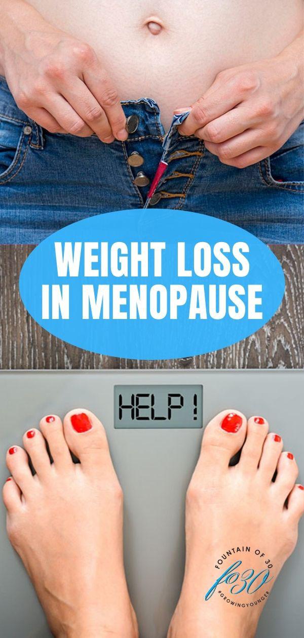 weight loss in menopause fountainof30