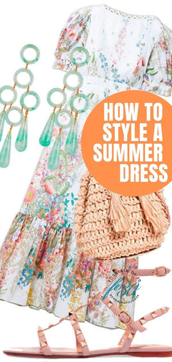 style a summer dress fountainof30