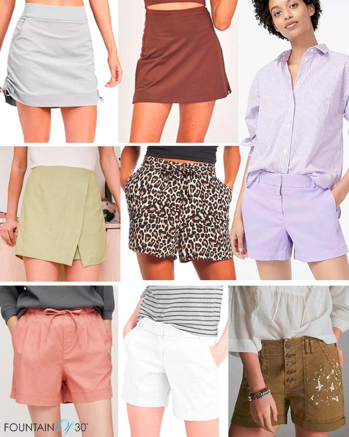 shorts for women over 40 fountainof30