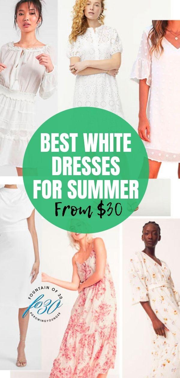 white dresses for summer fountainof30