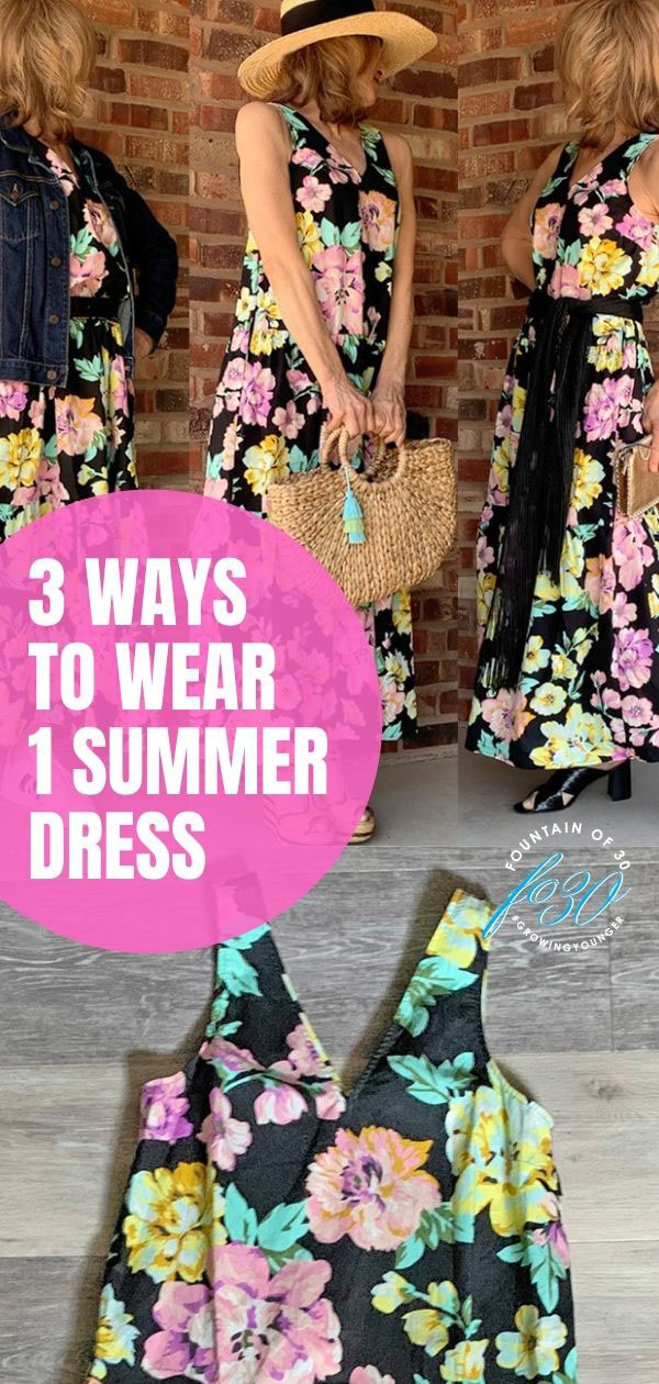 how to wear summer dress fountainof30