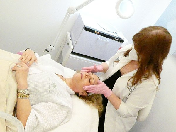 Holly Montgomery with Lauren Dimet Waters at Tribeca MedSpa fountainof30