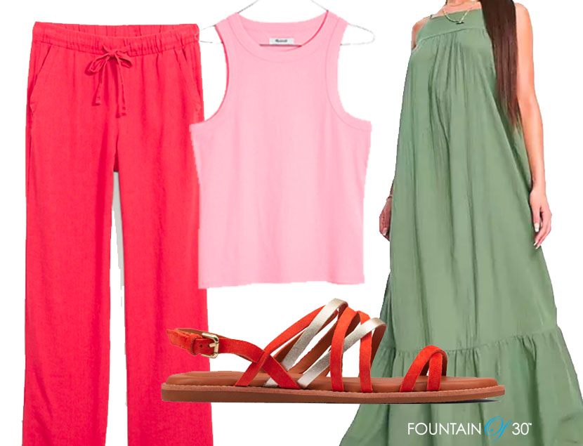 vacation outfits for women over 40