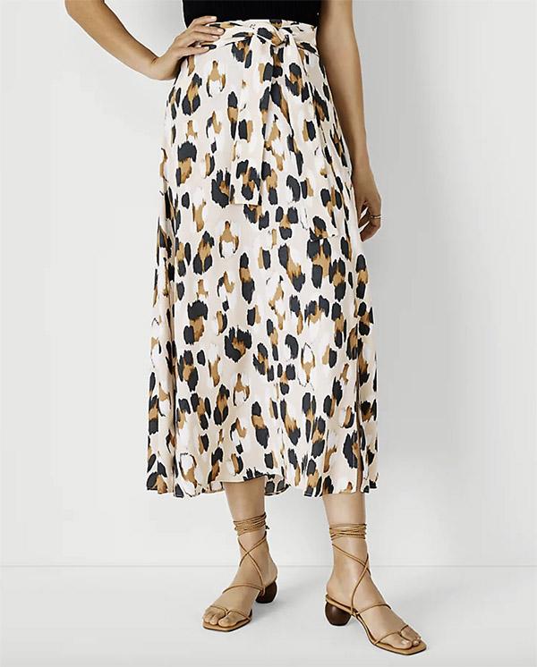 leopard print skirt ann taylor fountainof30