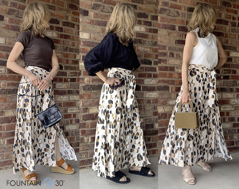 leopard print skirt 3 looks fountainof30