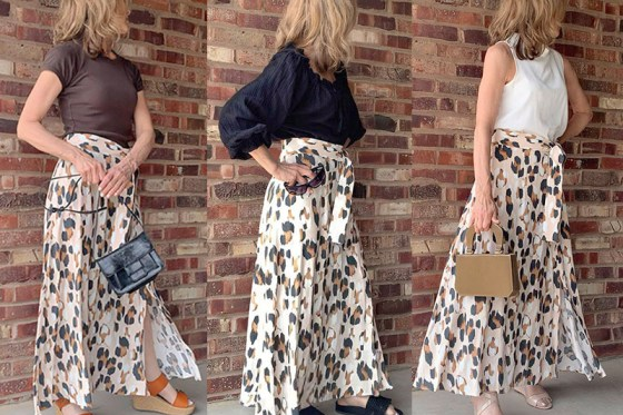 3 Easy-To-Wear Looks With One Leopard Print Skirt