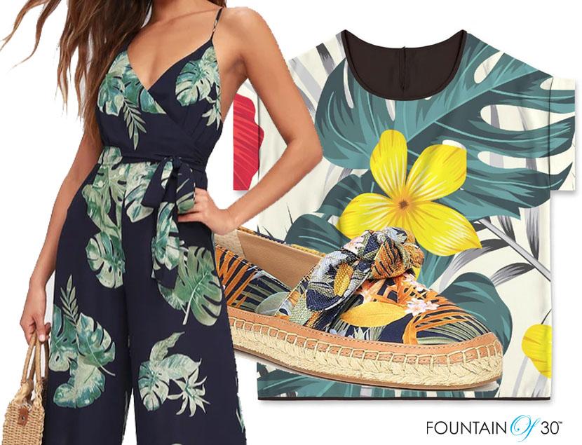 bold tropical prints fashion fountainof30