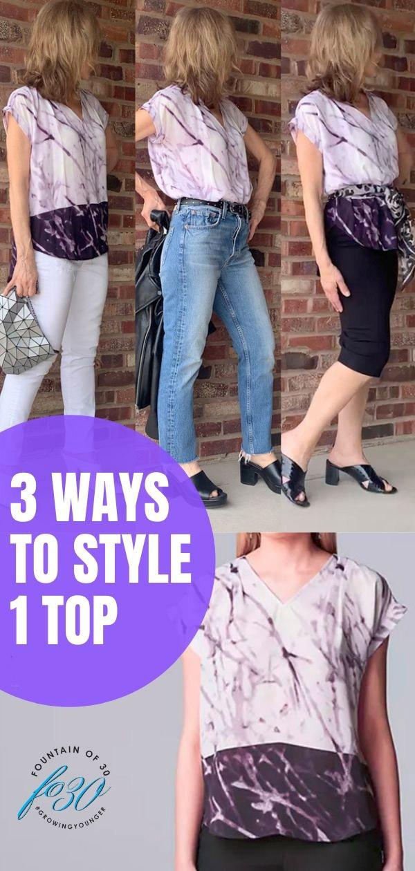 3 ways to style 1 top fountainof30