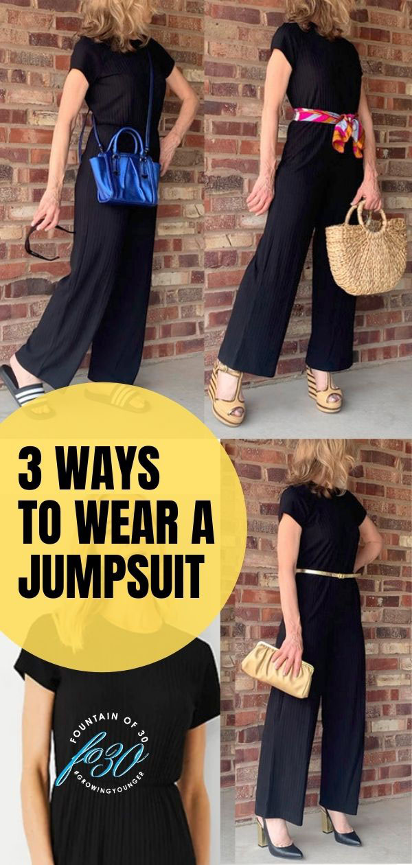 how to wear a black jumpsuit fountainof30
