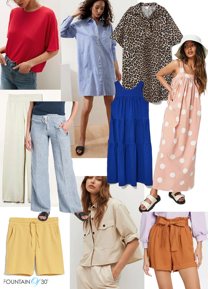 oversized clothing trend over 40 fountainof30