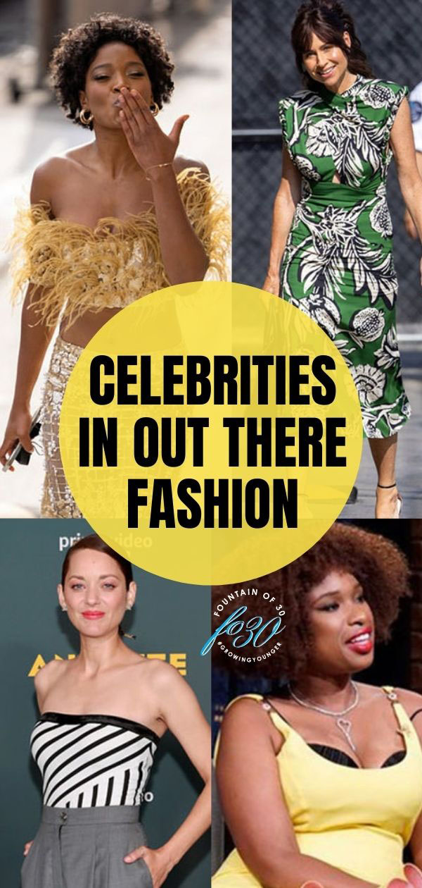 celebrities in out there fashion fountainof30