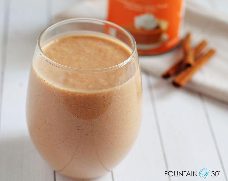 immune boosting pumpkin pie smoothie recipe fountainof30