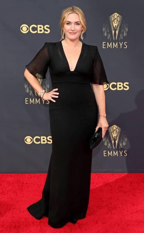 black gown emmys 2021 fashion