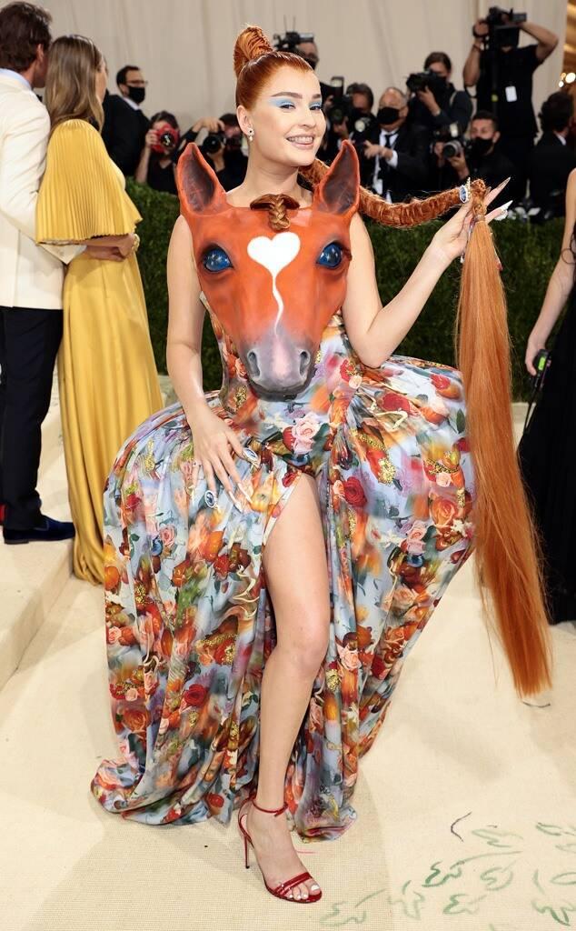 Kim Petras Met Gala 2021 Fashion