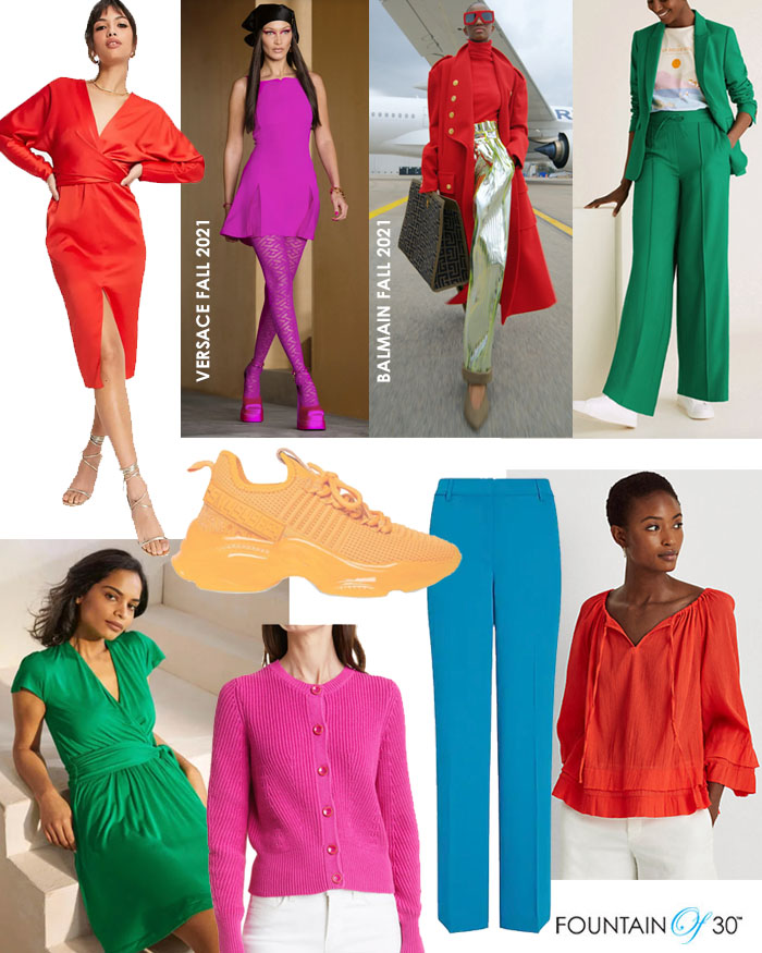 saturatd colors fall 2021 trend fountainof30