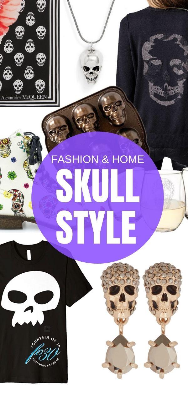 skulll fashion and home decor fountainof30