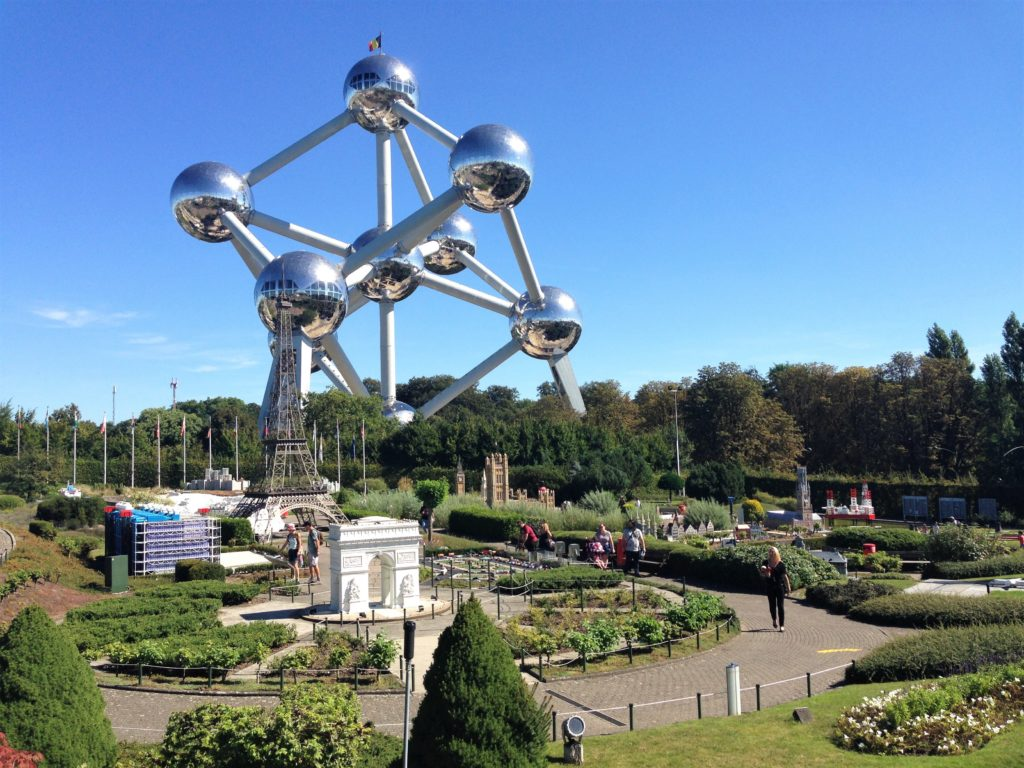 Fountain of Travel 24 Hours in Brussels Atomium and Mini-Europe
