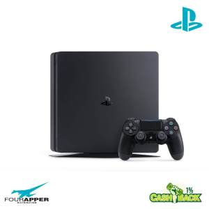 ps4 500 gb f black front