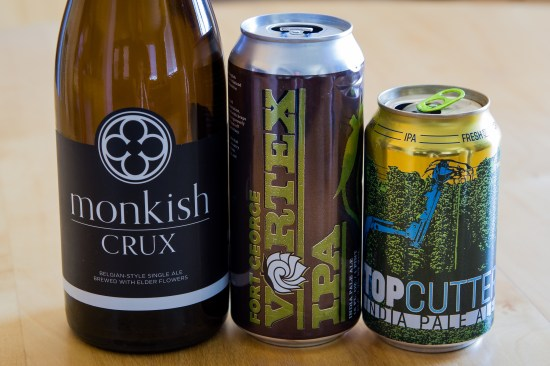 Monkish Brewing, Fort George, and Bale Breaker Brewing Co.