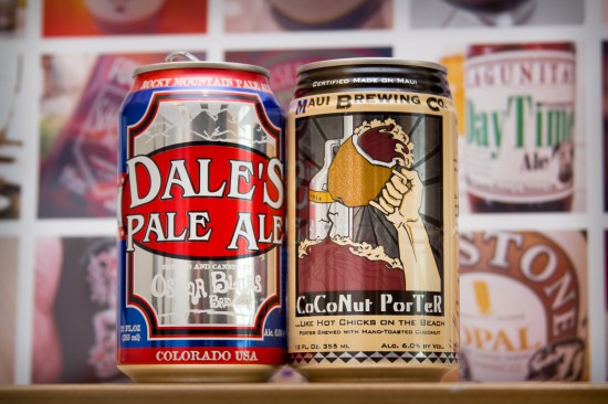 Going In Blind, with Dale's Pale Ale and Coconut Porter
