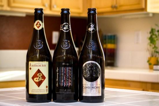 Brooklyn Brewery Beers.