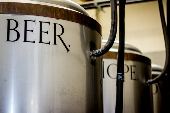 Fermentors at Monkish Brewing Co.
