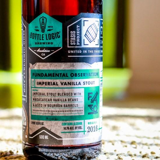 Bottle Logic Brewing - Fundamental Observation