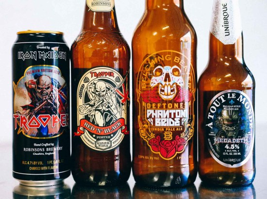 Metal Band Collaboration Beers