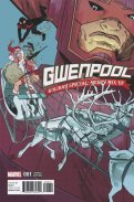 Gwenpool Holiday Special Merry Mix-Up (2016) (Henderson variant)