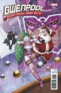 Gwenpool Holiday Special Merry Mix-Up (2016) (Lim variant)