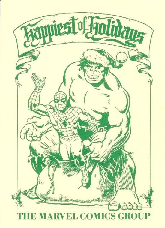 A Merry Marvel Christmas