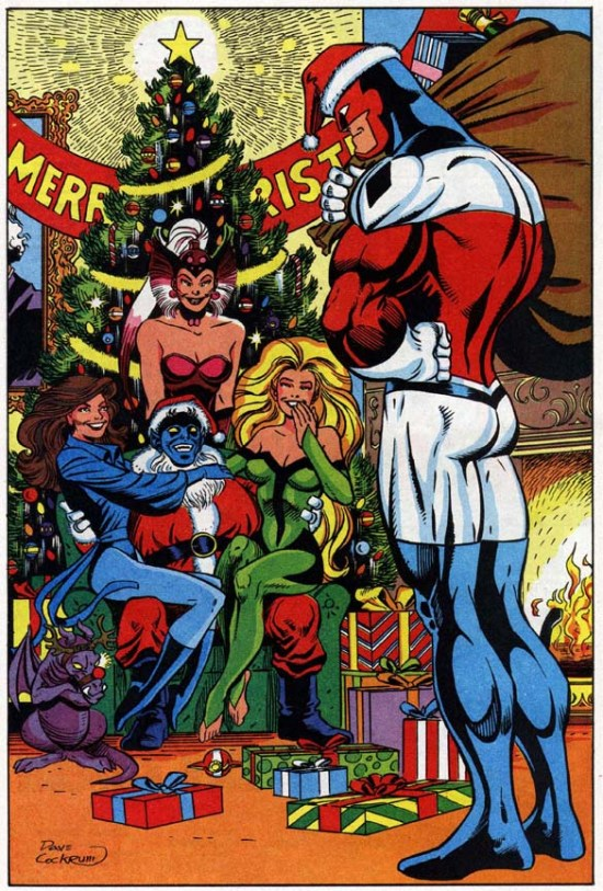 England's super team Excalibur wishes a Merry X-Mas