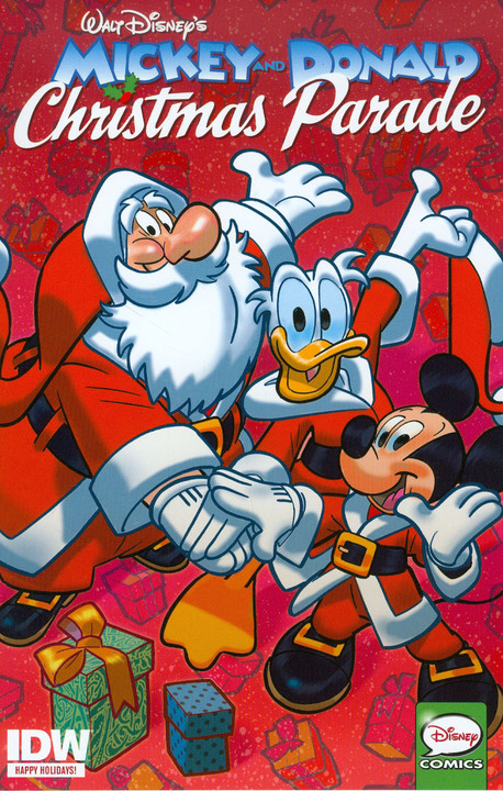 Mickey and Donald Christmas Parade (2015) 1